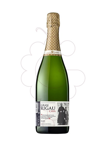 Photo Gran Rigau Brut Nature Chardonnay sparkling wine