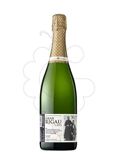 Photo Gran Rigau Brut Nature Chardonnay sparkling wine