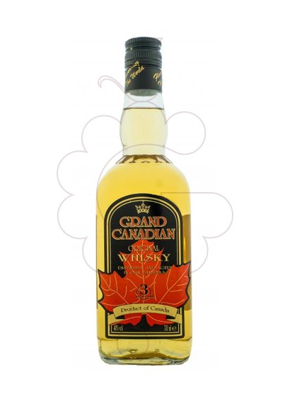 Photo Whisky Grand Canadian