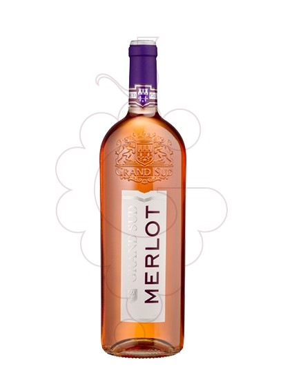 Photo Grand Sud Merlot Rosat rosé wine