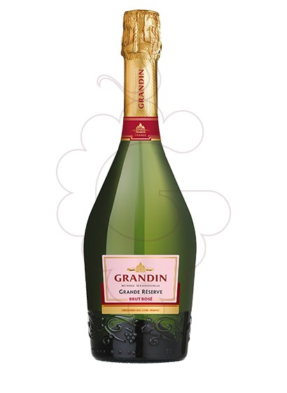 Photo Grandin Brut Rose sparkling wine