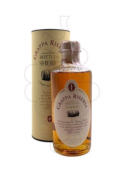 Photo Grappa Grappa Sibona Botti da Sherry