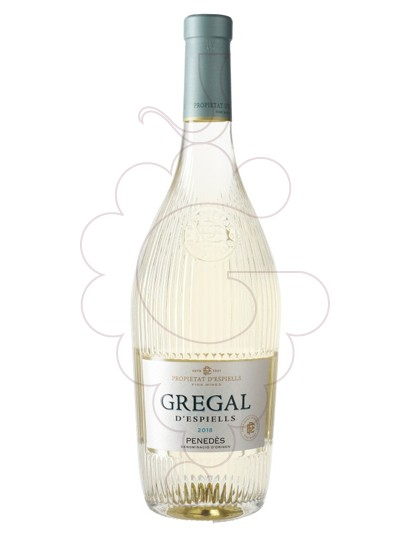 Photo Gregal d'Espiells  white wine
