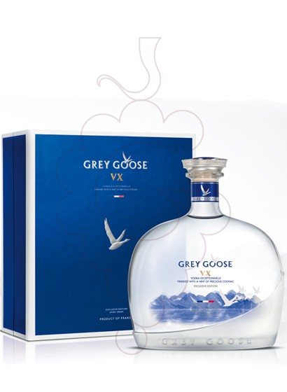 Photo Vodka Grey Goose VX