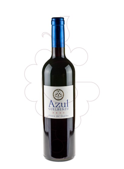 Photo Guelbenzu Azul red wine