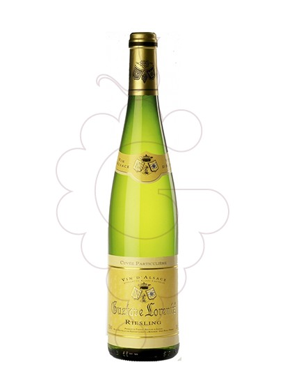 Photo Gustave Lorentz Riesling white wine