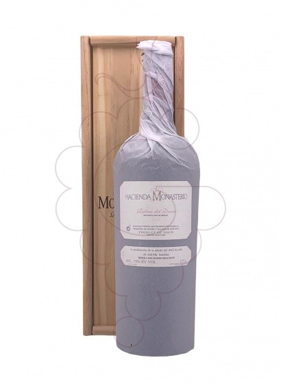 Photo H. Monasterio Crianza Magnum red wine