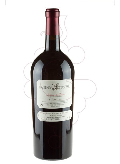 Photo H. Monasterio Reserva Magnum red wine