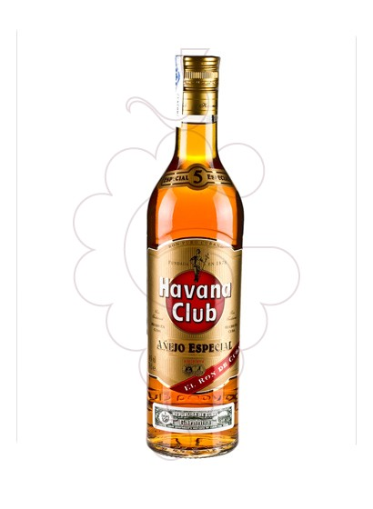 Photo Rum Havana Club Añejo 5 Years