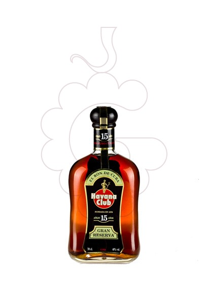 Photo Rum Havana Club 15 Years