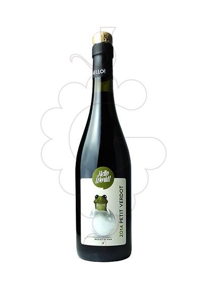 Photo Hello World Petit Verdot red wine