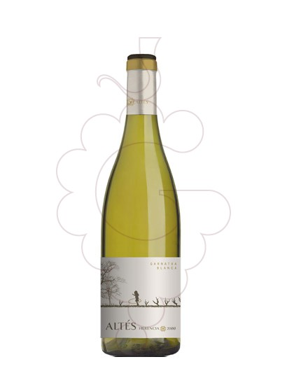 Photo White Herència Altés Garnatxa white wine