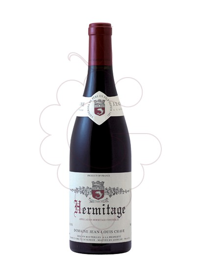 Photo Red J.L.Chave Hermitage red wine