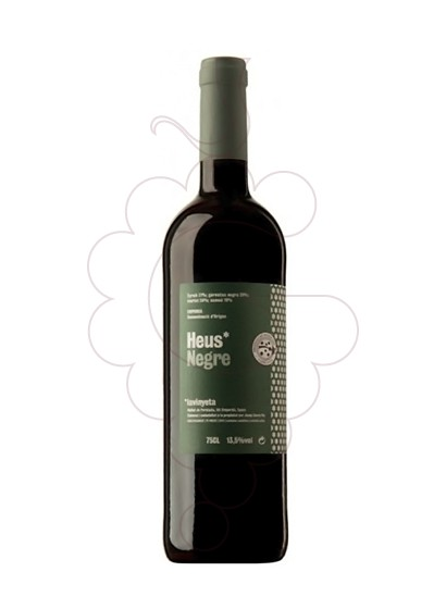 Photo Heus Negre red wine