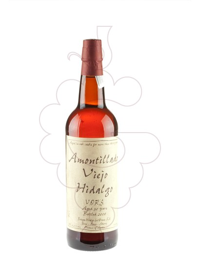 Photo Hidalgo Amontillado Viejo 30 Years fortified wine