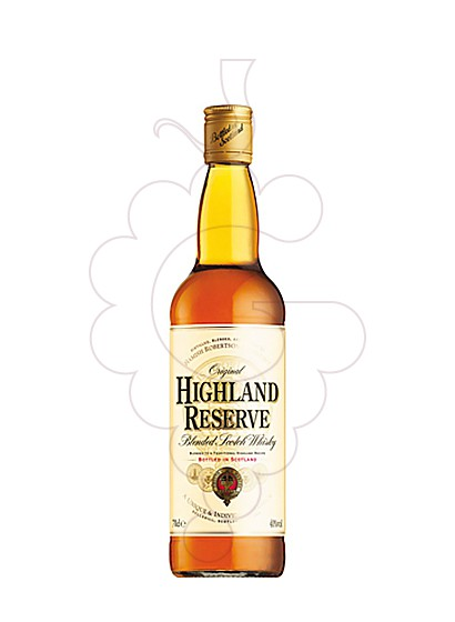 Photo Whisky Highland Reserve