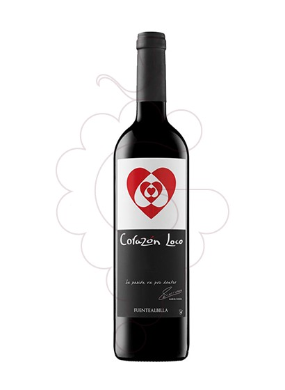 Photo Iniesta Corazon Loco Negre red wine