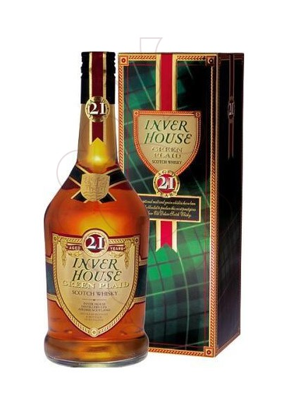 Photo Whisky Inver House Green 21 Years