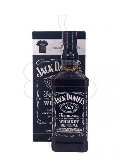 Photo Whisky Jack Daniels Pack 1 u + T-shirt