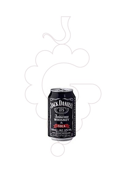 Photo Liqueur Jack Daniels Cola Llauna