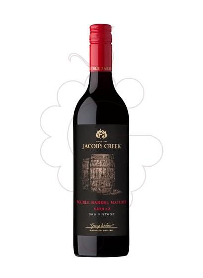 Photo Jacob's Creek Double Barrel Shiraz red wine