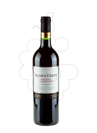 Photo Jacob's Creek Shiraz Cabernet red wine