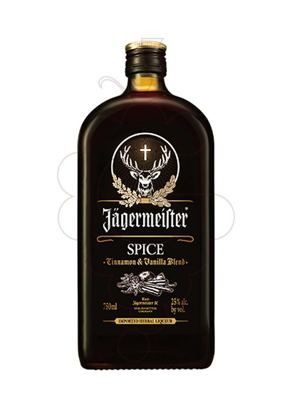 Photo Liqueur Jagermeister Spice