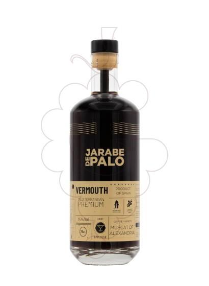 Photo Aperitif wine Red Vermouth Jarabe de Palo