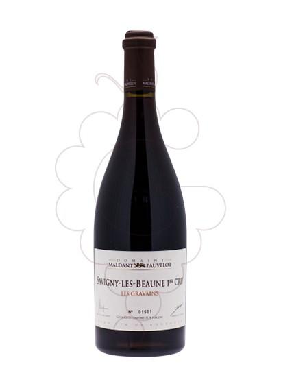 Photo Maldant Savigny-lès-Beaune Les Gravains red wine