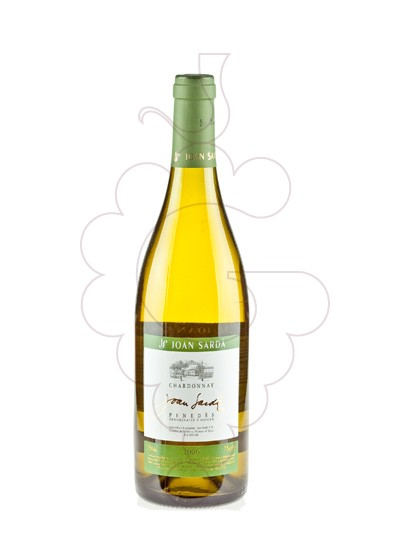 Photo Joan Sarda Blanc Chardonnay white wine