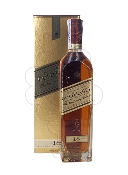Photo Whisky Johnnie Walker Gold Label 18 Years