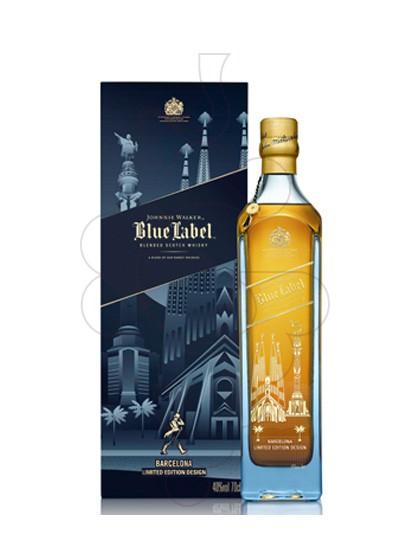 Photo Whisky Johnnie Walker Blue Barcelona Ed.