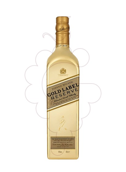 Photo Whisky Johnnie Walker Edition Gold