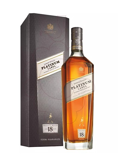 Photo Whisky Johnnie Walker Platinum 18 Anys