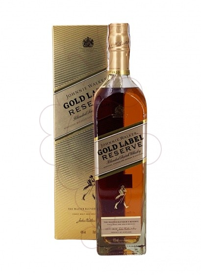 Photo Whisky Johnnie Walker Reserve Gold Label