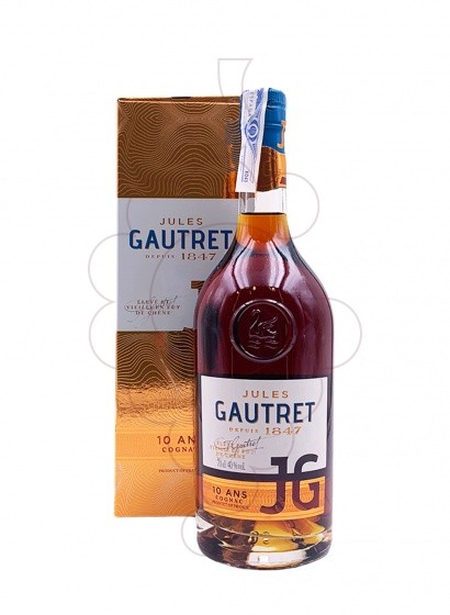 Photo Cognac Jules Gautret 10 Years
