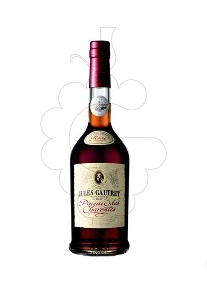 Photo Aperitif wine Jules Gautret Pineau des Charentes Rosé