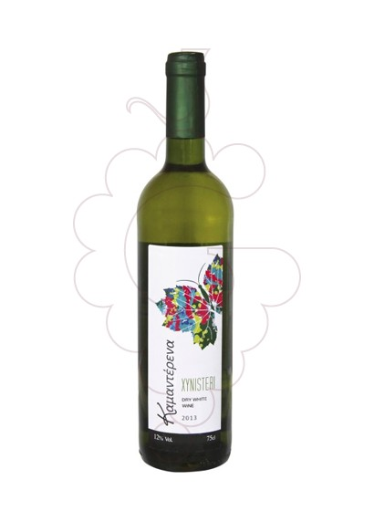 Photo Kamanterena Xynisteri Blanc white wine