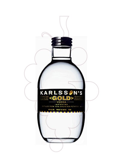Photo Vodka Karlsson's Gold