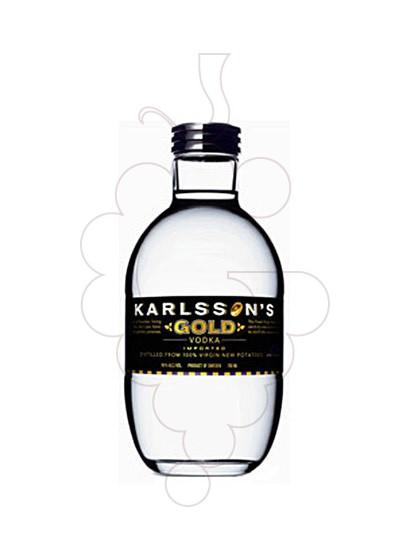Photo Vodka Karlsson's Gold