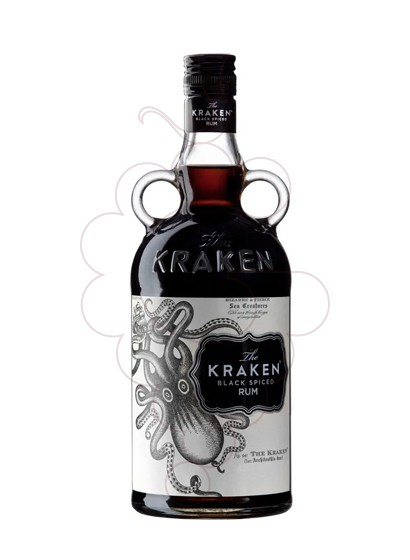 Photo Rum Kraken Black