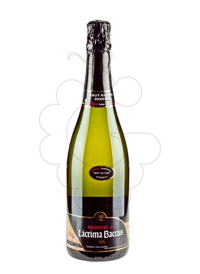Photo Lacrima Baccus Heretat Reserva Brut Nature sparkling wine