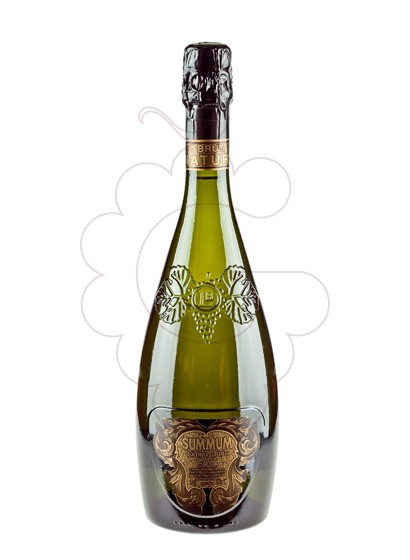 Photo Lacrima Baccus Summum Brut Nature sparkling wine