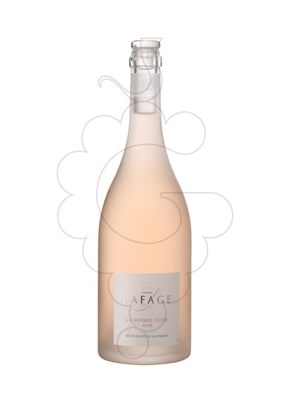 Photo Lafage la Grande Cuvée Rosé rosé wine