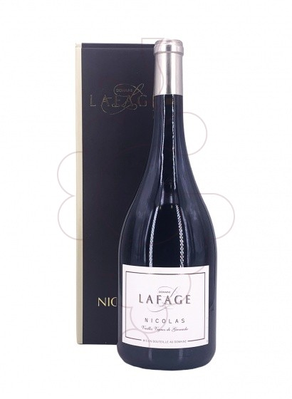 Photo Lafage Nicolas Magnum red wine