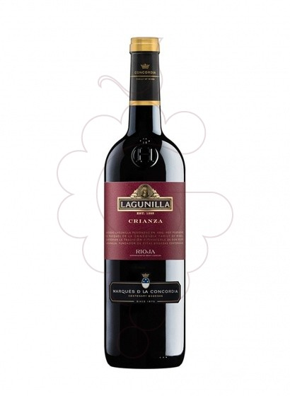 Photo Lagunilla Crianza red wine