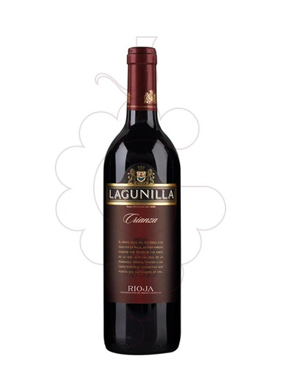 Photo Lagunilla Viña Artal Crianza red wine