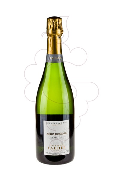 Photo Lallier Grand Cru Z. D. sparkling wine