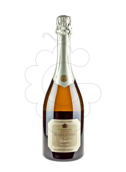 Photo Lanson Noble Cuvee Brut  sparkling wine