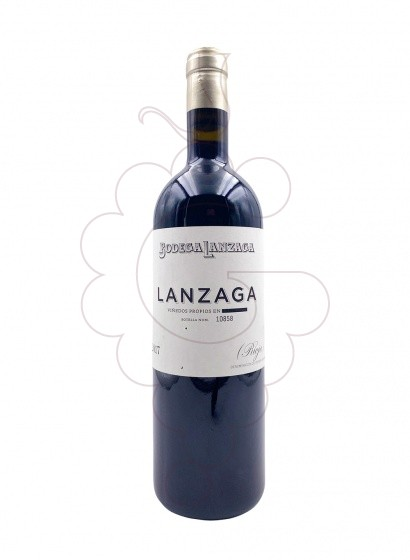 Photo Lanzaga red wine